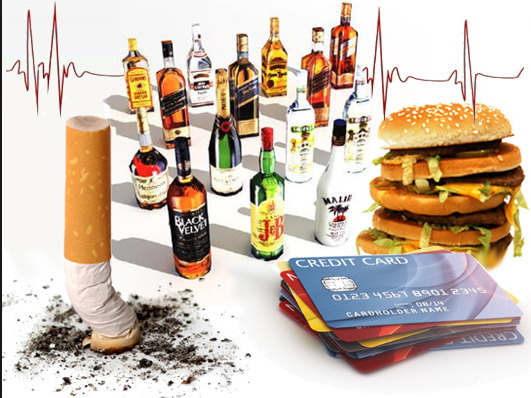 Фастфуд, алкоголь, стрессы