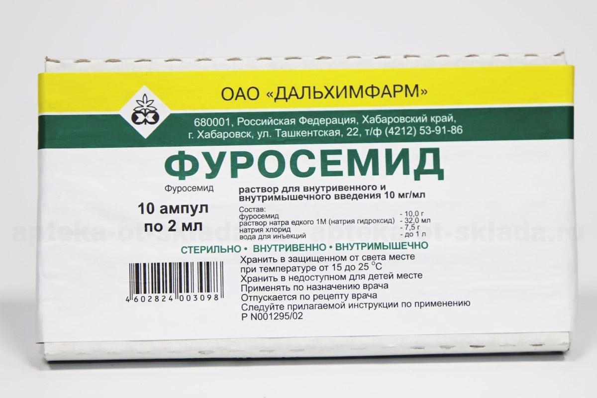 Фуросемид для похудения, отзывы и применение, побочные действия.